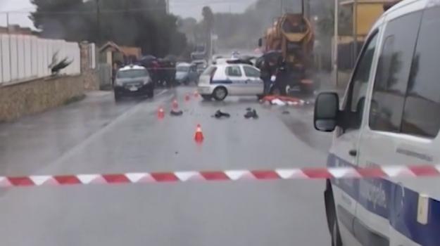 Incidente mortale a Carini, morto un motociclista