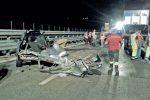 Tragico scontro tra due auto sulla Palermo-Catania: muore un uomo di Gangi, un altro ferito