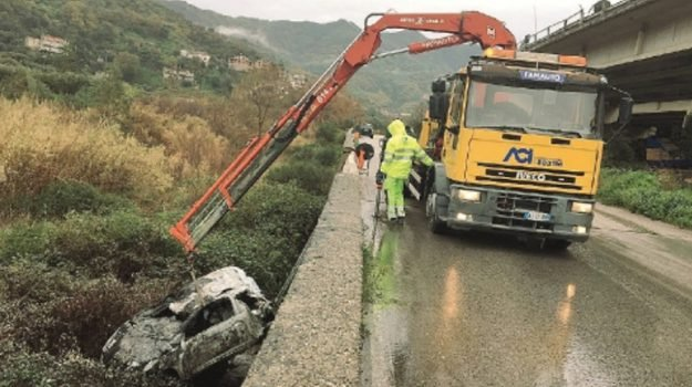 incidente piraino, Messina, Cronaca