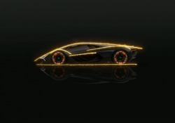 La Lamborghini Terzo Millennio