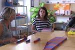 La matematica è facile con i colori di Maria Montessori