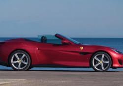La prova della Ferrari Portofino