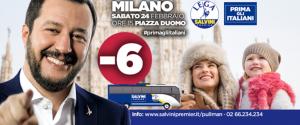 """""""Prima gli italiani"""" ma in foto ci sono stranieri: ironia del web sui manifesti di Salvini"""