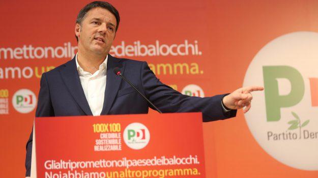 elezioni politiche 2018, pd, Matteo Renzi, Sicilia, Politica