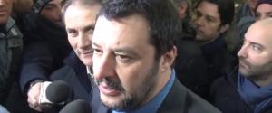 """Salvini a Palermo: """"Bene Musumeci ma ancora troppo passato nel suo governo"""" - Video"""