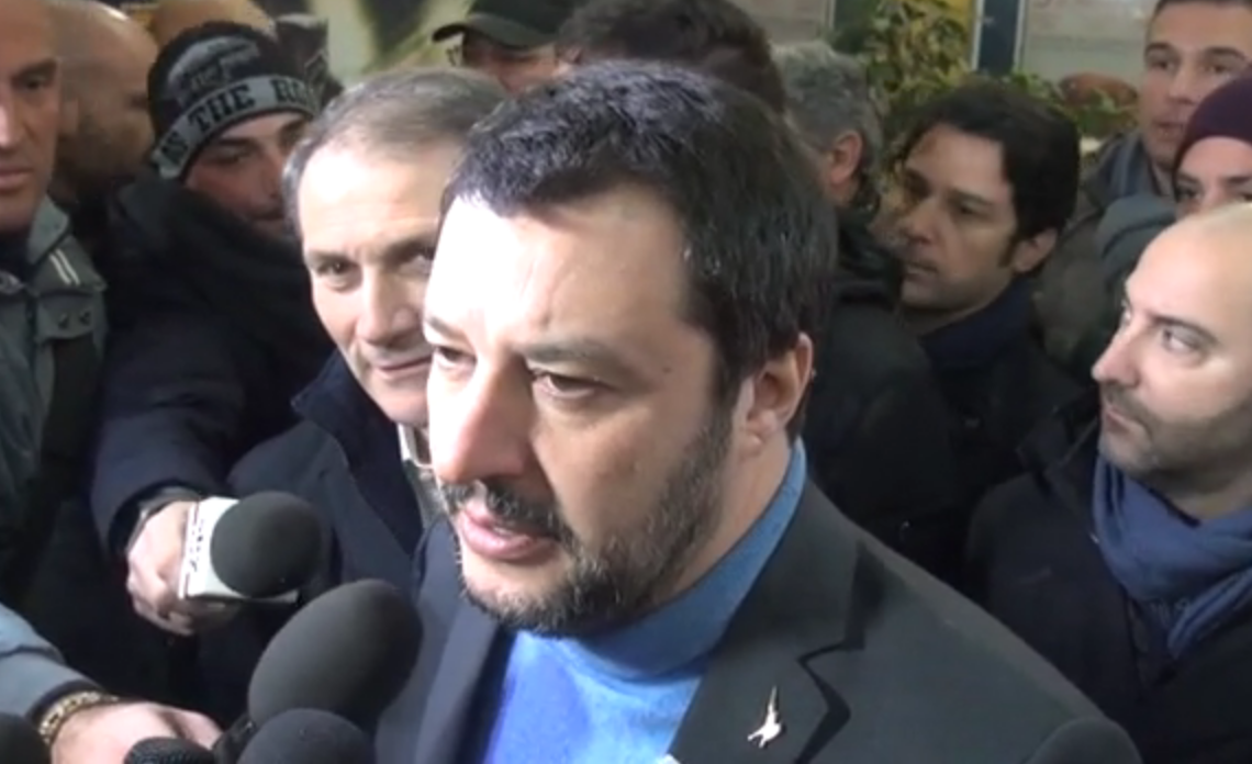 Salvini: Lega disponibile a larghe intese su presidenti Camere