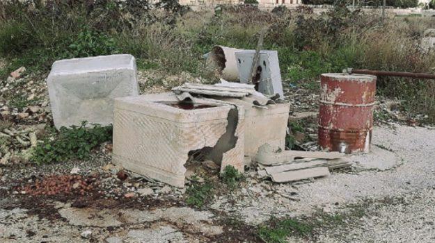 discariche abusive menfi, Agrigento, Cronaca