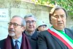 Intitolata una strada al sindacalista Mico Geraci, commozione alla cerimonia - Video