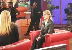 Milly Carlucci affranta dopo la notizia della morte di Bibi Ballandi