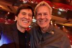 Baglioni e Morandi, selfie all'Ariston: i Capitani Coraggiosi si ritrovano - Foto