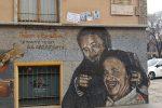 Ripulito il murale di Falcone e Borsellino sfregiato a Milano