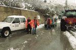 Maltempo ad Agrigento, disagi sulla Provinciale 24