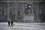 Meteo: neve anche a Napoli, ma in Sicilia nel weekend sole e 20 gradi