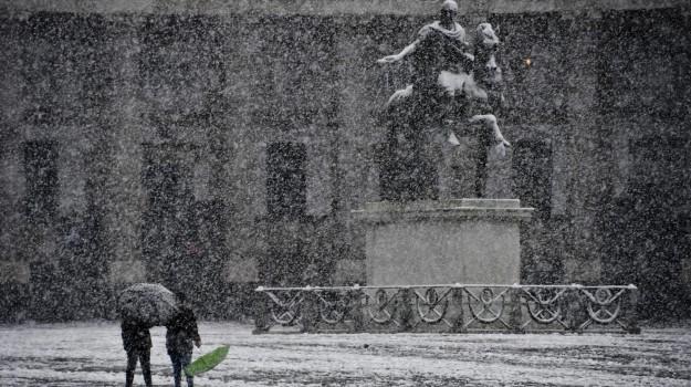 allerta meteo, freddo, neve, Sicilia, Meteo