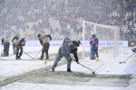 La neve fa rinviare Juventus-Atalanta, super Lazio a Sassuolo