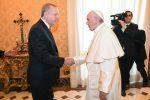 Incontro tra il Papa e il presidente turco Erdogan
