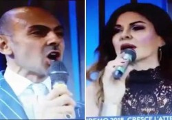 Parietti -Miccio, lite tv sul look : «Ridicolo», «Ti vesti come a Capodanno»