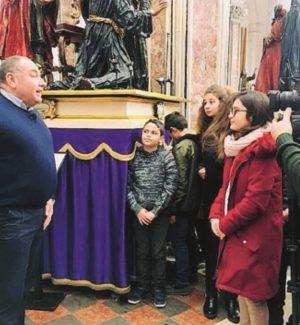 """""""Fra fede e tradizione"""", studenti di Trapani alla scoperta della Processione dei Misteri"""