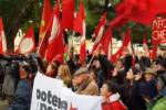 Proteste senza scontri a Palermo
