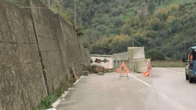 smottamenti alcara li fusi, strada provinciale 161, Messina, Cronaca