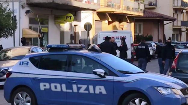 rapina poste bagheria, Palermo, Cronaca