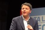 """Renzi a Palermo: """"Felice che il sindaco Orlando sia dei nostri"""" - Video"""