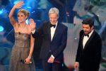 Sanremo, il festival parte col botto: oltre il 52% di share, meglio di Conti