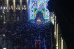 A Catania la festa di Sant'Agata: la processione sotto la pioggia - video