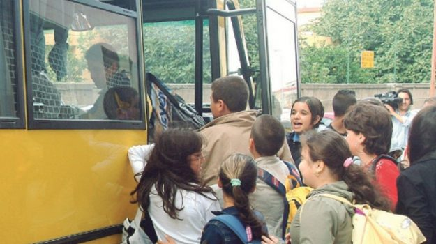 scuolabus erice, Trapani, Cronaca