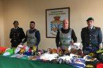 Articoli di carnevale illegali, maxi sequestro a Catania