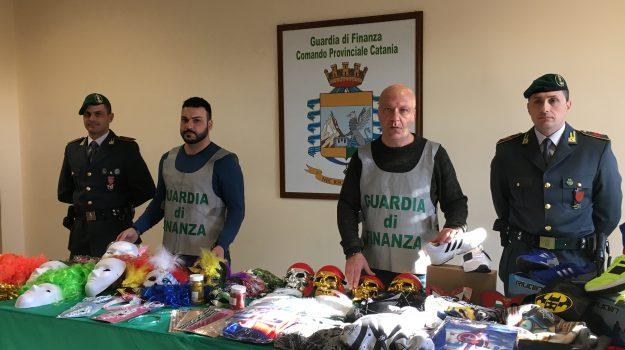 articoli carnevale illegali catania, Catania, Cronaca