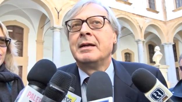 assessore regionale beni culturali, Vittorio Sgarbi, Sicilia, Politica