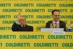 Silvio Berlusconi all'assemblea di Coldiretti