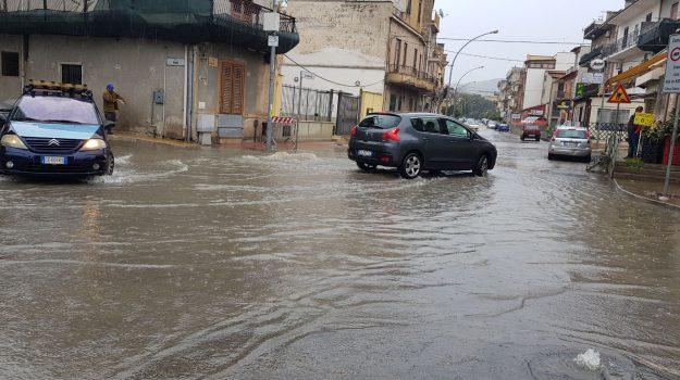 Meteo, maltempo in Sicilia: ancora allagamenti a Palermo e provincia