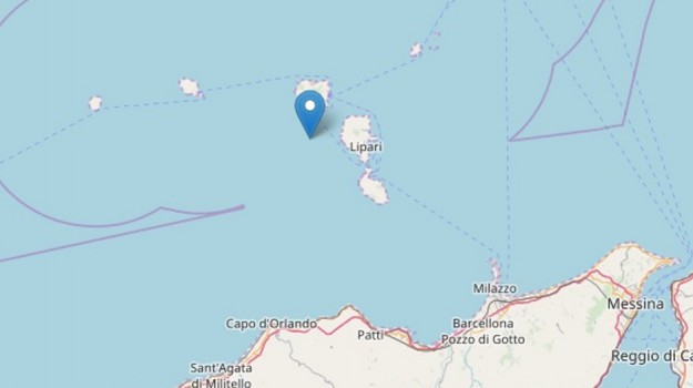 terremoto eolie, terremoto sicilia, Sicilia, Cronaca