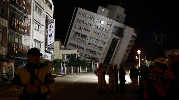 terremoto taiwan, Sicilia, Mondo