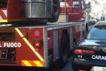 Sala ricevimenti incendiata per vendetta, due arresti nel Messinese