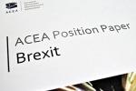 Brexit: Acea, l'Ue eviti implicazioni disastrose per auto