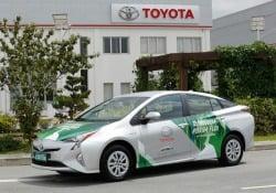 Da Toyota la prima ibrida flex al mondo, va anche a etanolo