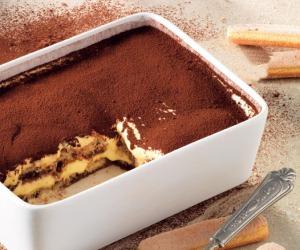 Il Tiramisù è il dolce più ordinato a domicilio, in un anno +75%