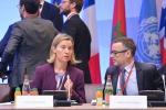 Federica Mogherini e Fernando Gentilini - fonte: EC