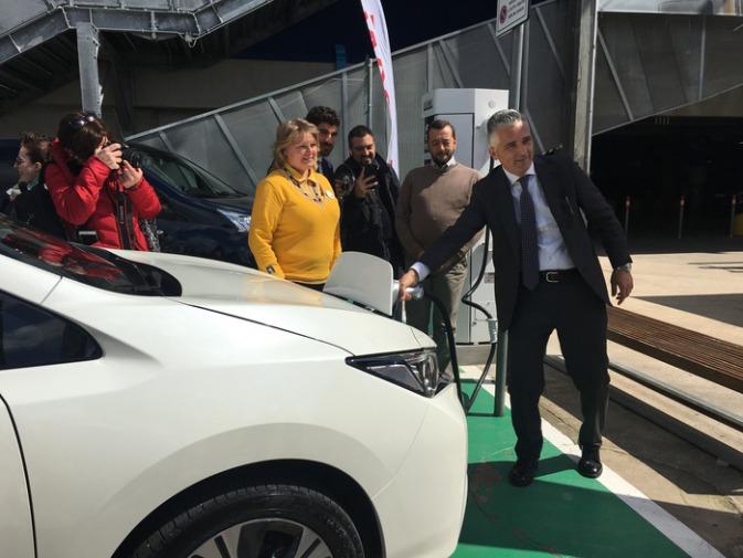 Nissan Inaugurata A Ikea Anagnina Colonnina Ricarica Rapida