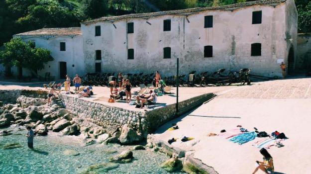 riapertura Tonnara di Scopello, Trapani, Cronaca