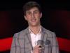 The Voice of Italy, il giovane Antonio da Marsala conquista i giudici con