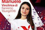 La catanese Elena Manuele vince la prima edizione di Sanremo Young