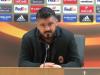 Milan eliminato dall'Arsenal, Gattuso: