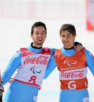 Paralimpiadi, secondo oro per l'Italia: Bertagnolli-Casal trionfano nello slalom speciale