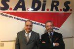 Giuseppe Di Paola e Peppino Salerno del sindacato Sadirs