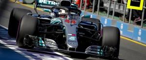 F1, Hamilton il più veloce nelle libere a Melbourne