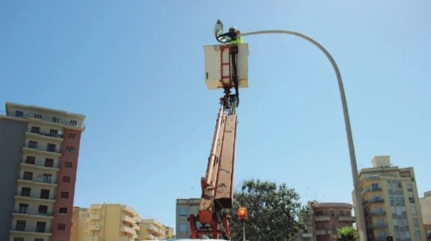illuminazione pubblica marsala, Trapani, Economia